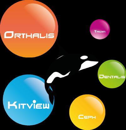Editeur de solutions logicielles en orthodontie