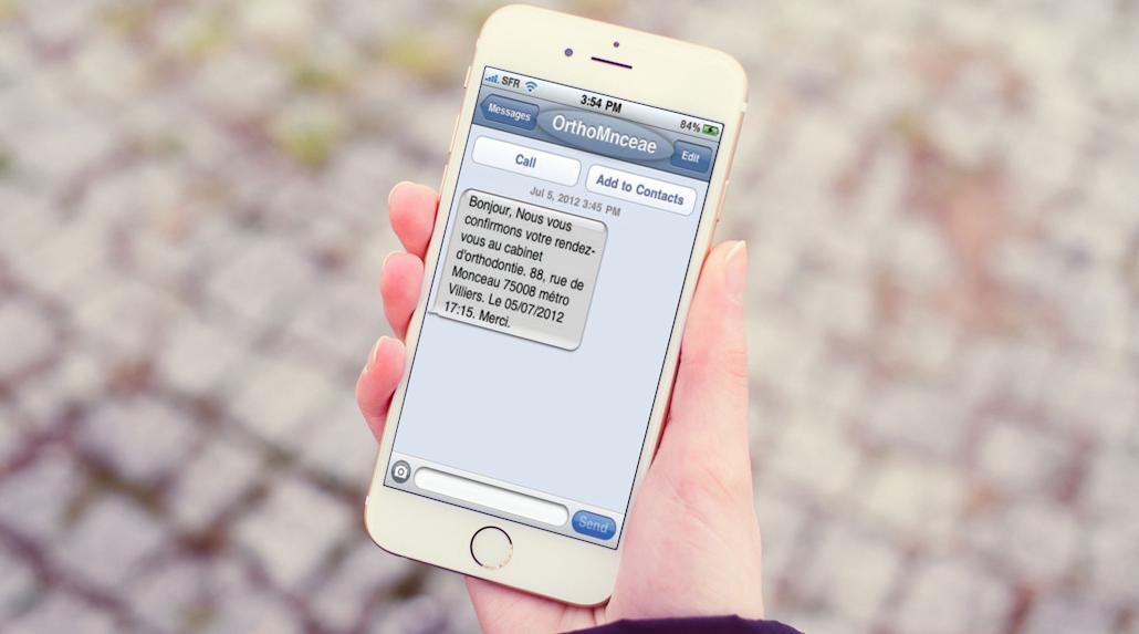 options sms logiciel orthodontie orthalis