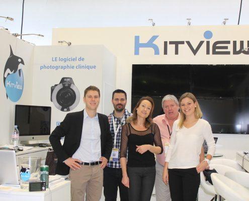 stand kitview équipe logiciel communication
