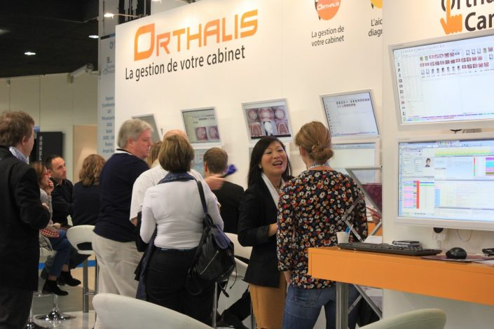 stand orthalis logiciel gestion cabinet