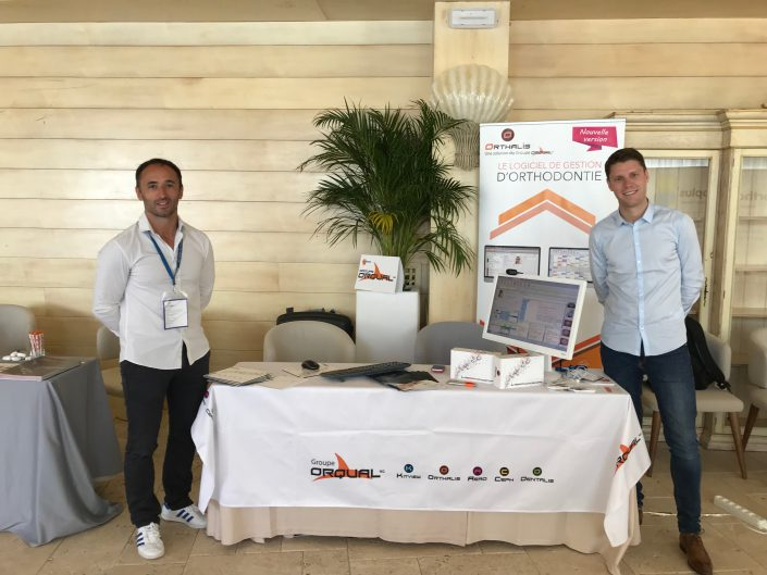 stand orthalis logiciel orthodontie ceo