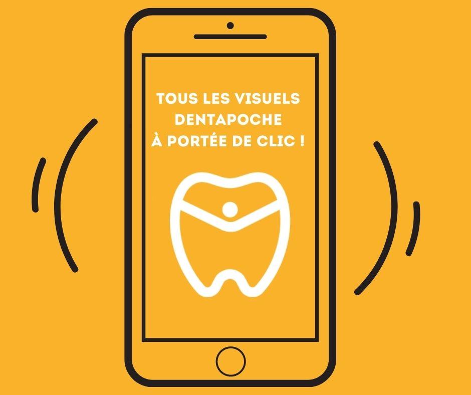 smartphone avec application dentapoche